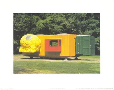 Mobile Home for Kroller Muller, c.1995 Posters by Joep Van Lieshout