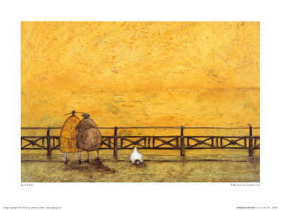 Romantic Interlude Poster by Sam Toft