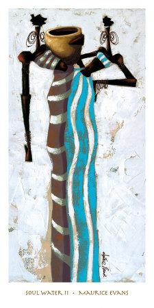Soul Water II Prints by Maurice Evans