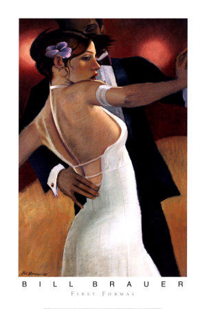 First Formal Poster by Bill Brauer