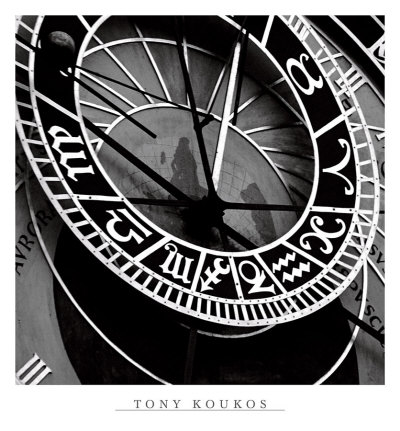 Pieces of Time I Print by Tony Koukos