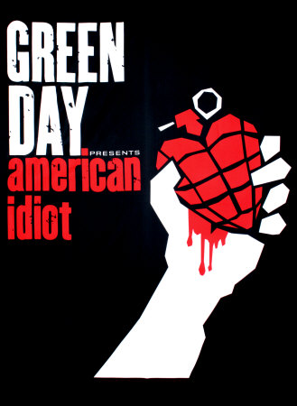 Green Day Fabric Poster