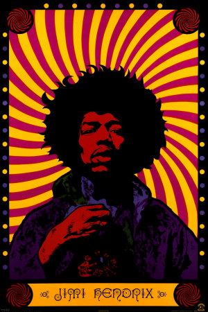 Jimi Hendrix - Psychedelic Prints