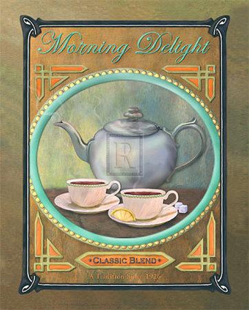 Morning Delight Kunstdruck von Jan Sacca