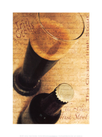Irish Stout Reproduction d'art