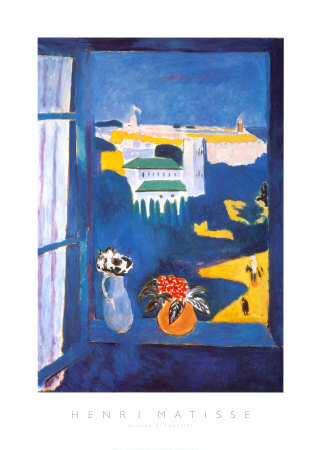 Window at Tangiers Prints by Henri Matisse