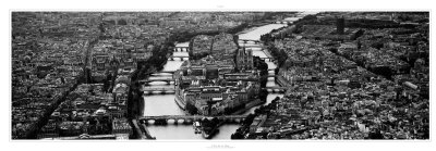 Paris, l'Ile de la Cite Art Print