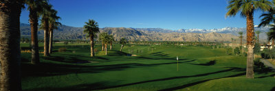 Golf Course, Desert Springs, California, USA Photographic Print by  Panoramic Images