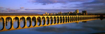 Railroad Bridge, Harrisburg, Pennsylvania, USA Photographic Print by  Panoramic Images