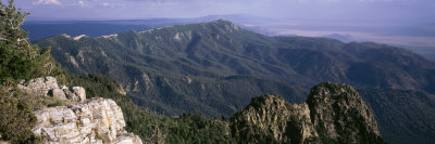 Sandia Mountains, Albuquerque, New Mexico, USA Photographic Print by  Panoramic Images
