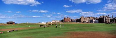 Golf Course, St. Andrews, Scotland, United Kingdom Fotografisk tryk af Panoramic Images,