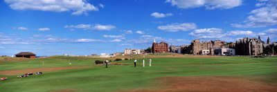 Golf Course, St. Andrews, Scotland, United Kingdom Photographic Print by  Panoramic Images