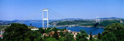 Bosphorus Bridge, Istanbul, Turkey Photographic Print by  Panoramic Images