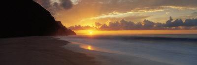 Kalalau Beach, Hawaii, USA Reprodukcja zdjęcia