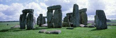 Landmark, Stones, Stonehenge, England, United Kingdom Photographic Print by  Panoramic Images
