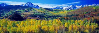 San Juan Mountains, Colorado, USA Lámina fotográfica por Panoramic Images,