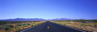 Road, Nevada, USA Photographic Print by  Panoramic Images