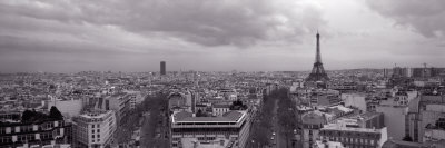 Eiffel Tower, Paris, France Photographic Print by  Panoramic Images