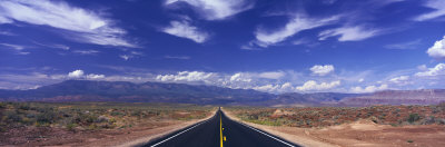 Road Zion National Park, Utah, USA Photographic Print by  Panoramic Images