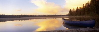 Leigh Lake, Grand Teton Park, Wyoming, USA Photographic Print by  Panoramic Images