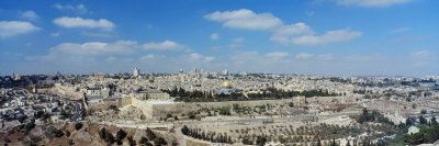 Ariel View of the Western Wall, Jerusalem, Israel Photographic Print by  Panoramic Images