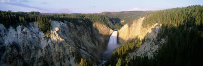 Lower Falls Yellowstone National Park Wyoming USA yellowstone grand canyon waterfall photo