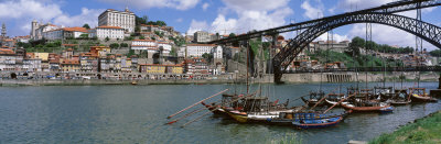 Bridge Over a River, Dom Luis I Bridge, Douro River, Porto, Douro Litoral, Portugal Photographie