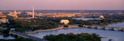 Aerial, Washington DC, District of Columbia, USA Photographic Print by  Panoramic Images