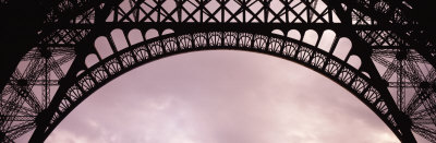 Close Up of Eiffel Tower, Paris, France Photographic Print by  Panoramic Images