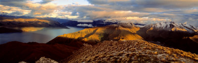 Lake Hawea, South Island, New Zealand Photographic Print by  Panoramic Images