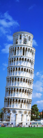 Tower of Pisa, Tuscany, Italy Photographic Print by  Panoramic Images
