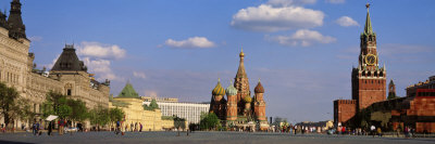 Red Square, Moscow, Russia Photographic Print by  Panoramic Images