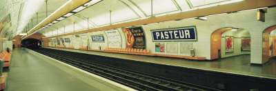 Metro Station, Paris, France Photographic Print