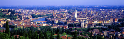 Cityscape, Verona, Italy Photographic Print by  Panoramic Images