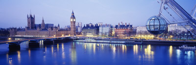 Millennium Wheel, London, England, United Kingdom Photographic Print by  Panoramic Images
