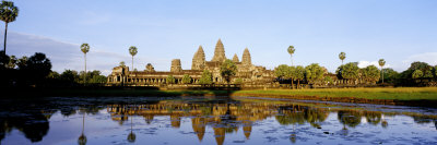 Angkor Wat, Cambodia Photographic Print by  Panoramic Images