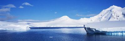 Icebergs, Antarctica Photographic Print by  Panoramic Images