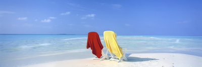 Beach Scenic, the Maldives Photographic Print by  Panoramic Images