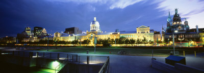 Old Harbor, Montreal, Quebec, Canada Photographic Print by  Panoramic Images