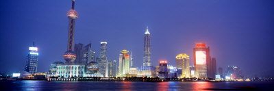 Pudong District, Shanghai, China Photographic Print by  Panoramic Images
