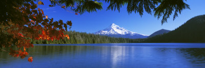 Lost Lake, Mt. Hood National Forest, Oregon, USA Photographic Print by  Panoramic Images