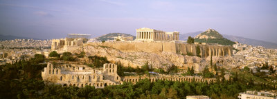 The Acropolis, Athens, Greece Photographic Print by  Panoramic Images