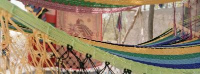 Hammocks, Akumal, Quintana Roo, Mexico Photographic Print by  Panoramic Images