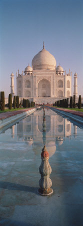 Facade of a Building, Taj Mahal, Agra, Uttar Pradesh, India Photographic Print by  Panoramic Images