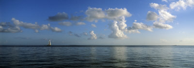 Clouds Over the Sea, Bora Bora, French Polynesia Photographic Print by  Panoramic Images