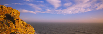 Panoramic View of the Ocean, Pacific Ocean, San Mateo County, California, USA Photographic Print by  Panoramic Images