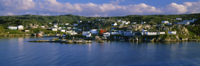 Fishing Sheds on an Island, Rose Blanche, Newfoundland and Labrador, Canada Photographic Print by  Panoramic Images