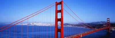 Golden Gate Bridge, San Francisco, California, USA Photographic Print by  Panoramic Images