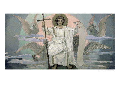 The Son of God - the Word of God, 1885-96 Giclee Print by Victor Mikhailovich Vasnetsov