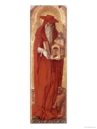 St.Jerome, circa 1476 Giclee Print by Carlo Crivelli